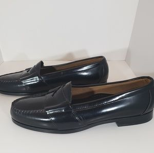Cole Haan Classic Kneeland Black Penny Loafer 12 D